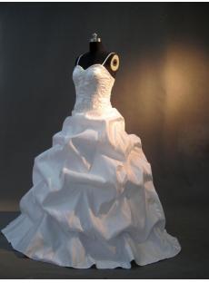 2013 Spaghetti Strap Wedding Dresses Satin Floor Length IMG_2919