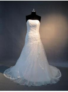 Affordable Lace Bridal Gown with Corset Back IMG_3736