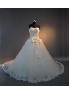 Beautiful Ball Gown Wedding Dresses with sweetheart neckline IMG_4002