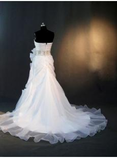 Beautiful Wedding Dress with Flower Skirt IMG_2937