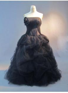 Black Plus Size Quince Gown Dress IMG_3347