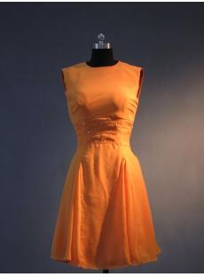 Burnt Orange Short Homecoming Dress IMG_3470