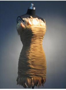Cheap Feather Mini Dress IMG_3480