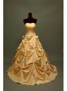 Daffodil Sweetheart Sweet 16 Gown IMG_6789