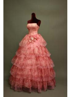Discount Pretty Quinceanera Dress with Damas img_6721