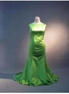 Elegant Green Plus Size Prom Dress IMG_3652