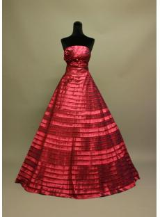 Floor Length Burgundy Best Quinceanera Dress img_6813