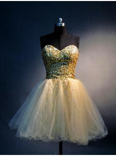 Gold Long Gown Sweet 16