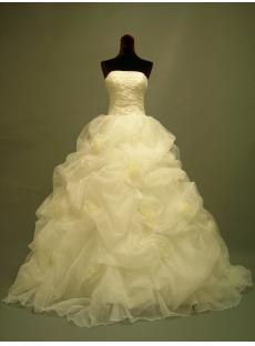 Gorgeous Wedding Dresses 2012 Strapless 2711