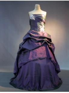 Grape Cute Quinceanera Dresses IMG_3529