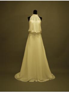 Halter Style Wedding Gowns Mature Bride 356