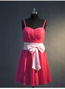Junior Bridesmaid Dresses with Sash for Less IMG_3363