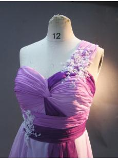 Lilac and Purple Plus Size Prom Dresses One Shoulder IMG_2995