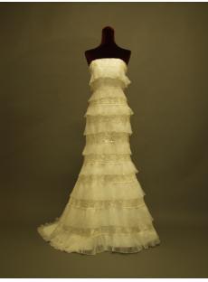 Multi-layer Sheath 2013 Bridal Gowns 230