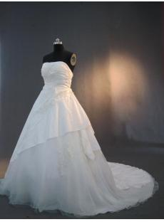 Plus Size Wedding Bridal Dresses Cheap IMG_3233