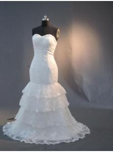 Romantic Fishtail Lace Bridal Gowns IMG_3027