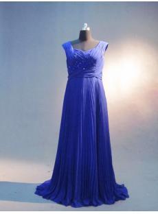 Royal Blue Maternity Prom Dresses IMG_3326