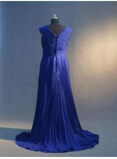 Royal Blue Maternity Prom Dresses IMG_3326