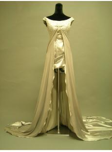 Scoop High Low Formal Evening Dress 2633