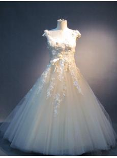 Scoop Princess Floral Quince Gown IMG_3959
