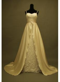 Spaghetti Beautiful Empire Maternity Wedding Dresses 229
