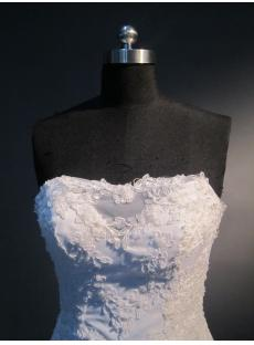 Strapless Lace Beautiful Couture Wedding Gowns Sale IMG_3937