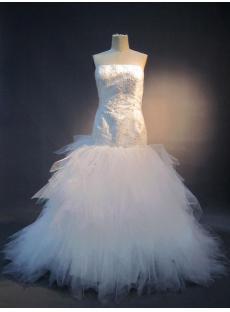 Strapless Mermaid Bridal Gowns for Full Figured IMG_3730