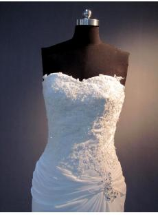 Sweetheart Corset Beach Bridal Gowns IMG_3623