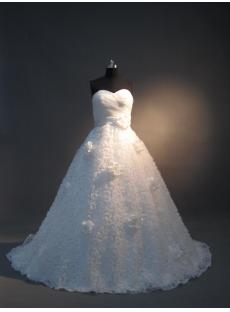 Sweetheart Romantic Beautiful Bridal Dress IMG_3680