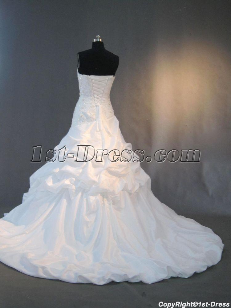 Corset Elegant Classy Wedding Gowns IMG_3011:1st-dress.com