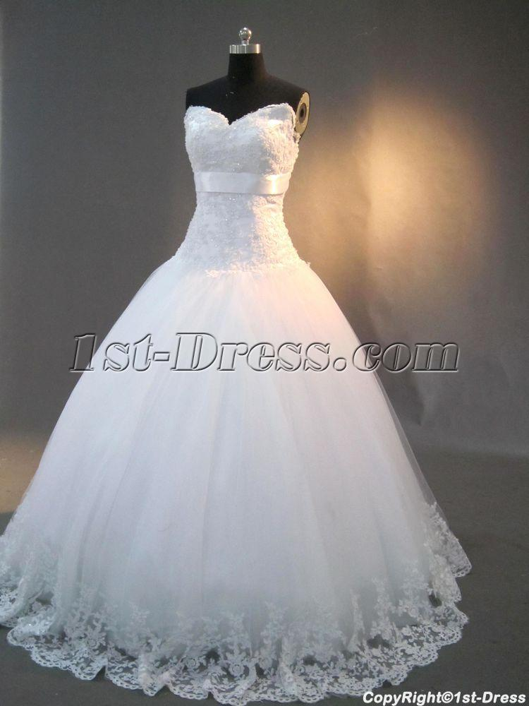 Drop Waist Strapless White Pretty Quinceanera Dresses IMG 30071st Dress