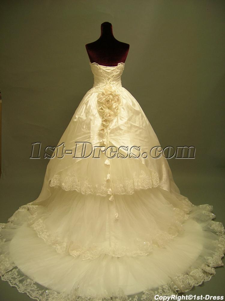 Gothic Wedding Bridal Gown Dresses Cheap 2691 1st
