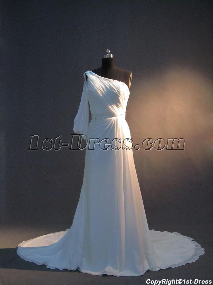 images/201302/big/One-Sleeves-Beach-Wedding-Dress-with-Corset-IMG_3332-306-b-1-1361367556.jpg