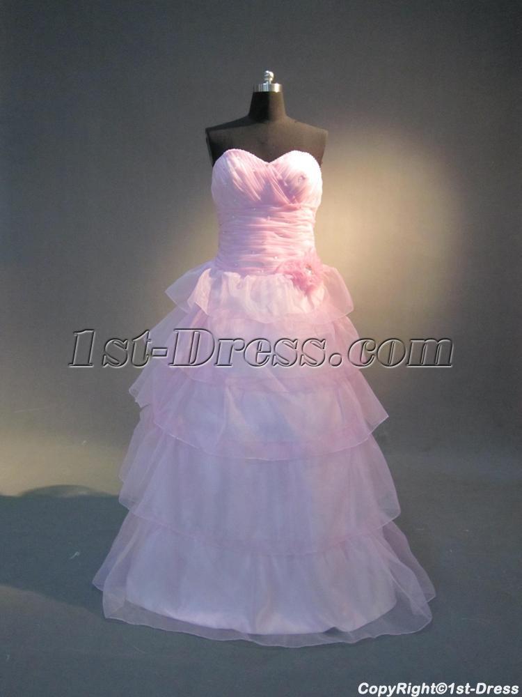 Pink Sweet 16 Dresses Ball Gowns IMG_3950:1st-dress.com