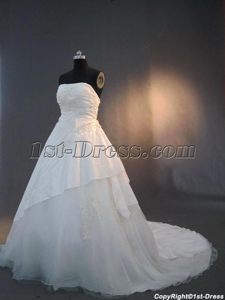 Plus size wedding bridal dresses cheap img 3233 1st for Wedding dresses boston cheap