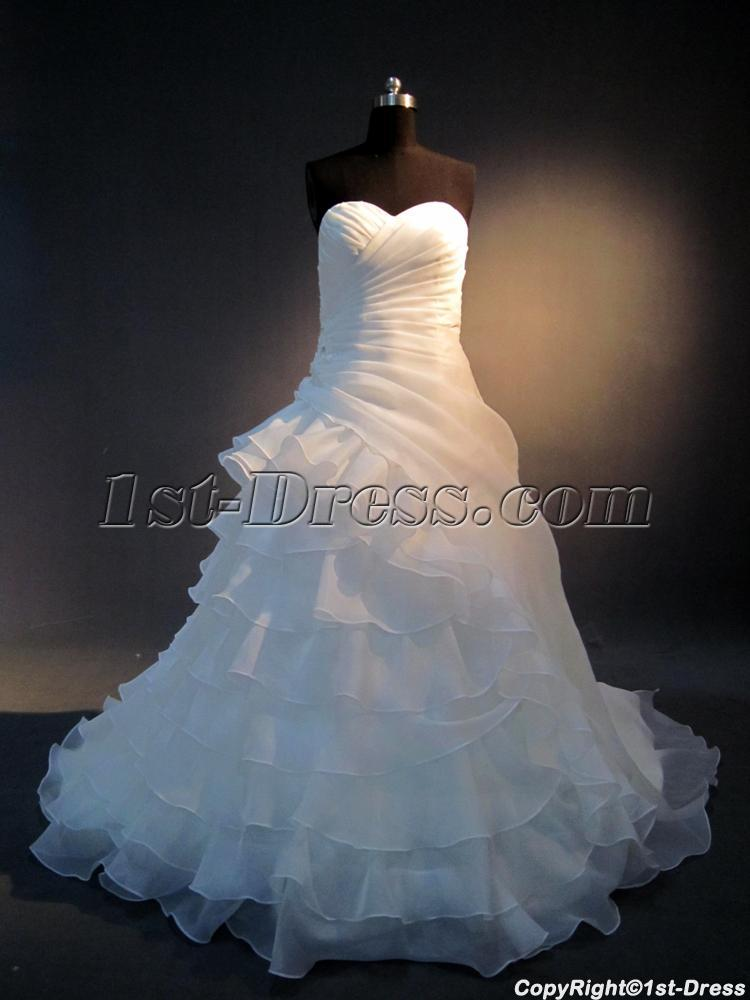 Romantic Wedding Gowns for Older Brides IMG_3919:1st-dress.com