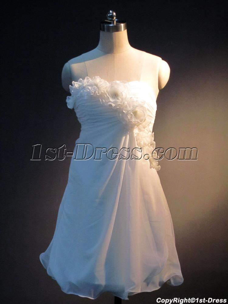 Simple Wedding Dresses for Short Women IMG_3980:1st-dress.com