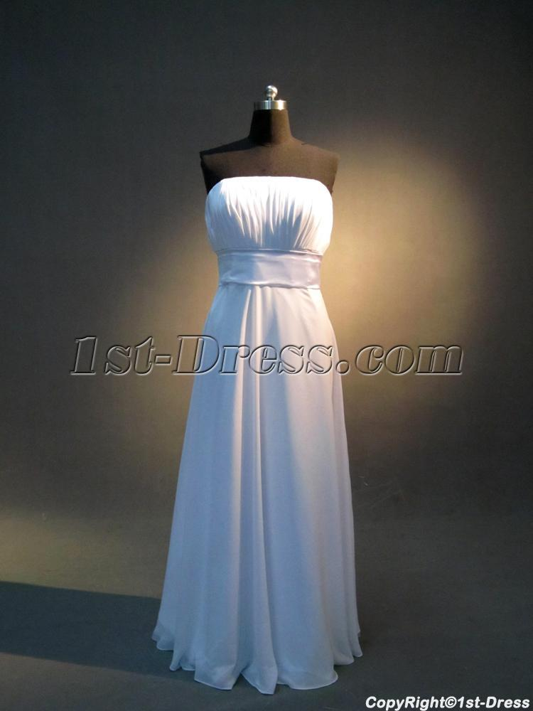 Strapless Long Prom Dress For Short People Img 3905 1st