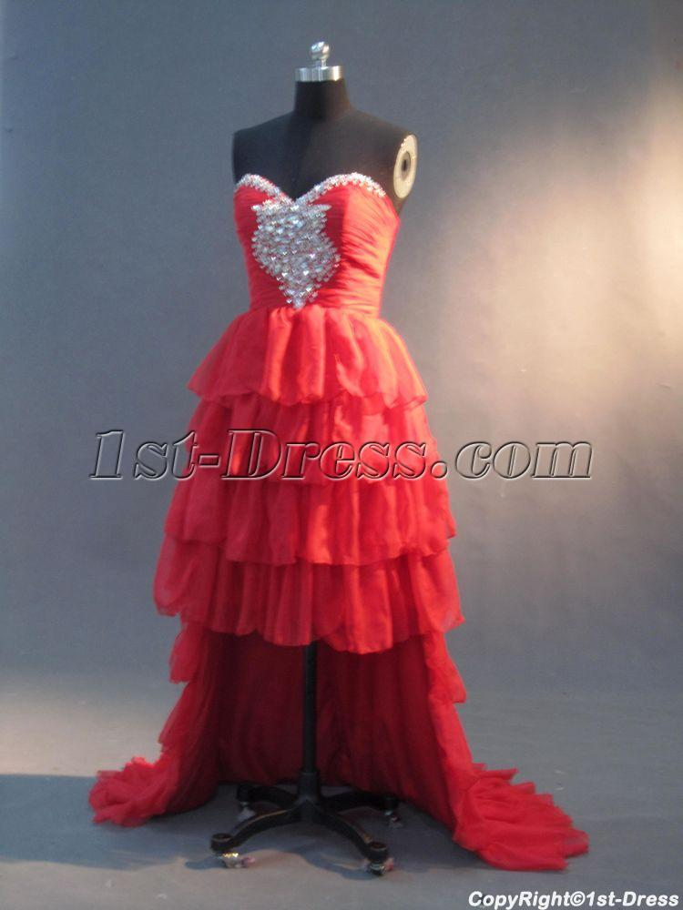 Red Sweet 16 Dress