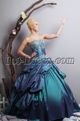 Romantic Princess Quinceanera Dresses 2013 with Corset SOV113009