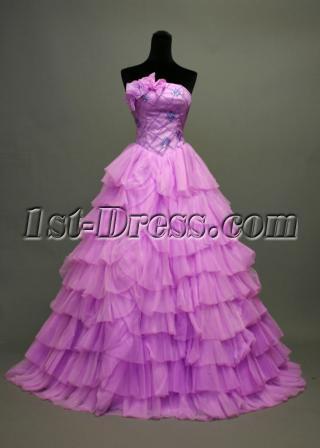 15 Lilac Purple Quinceanera Dresses IMG_7101