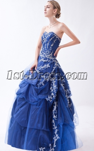 Best Exquisite Emboridery Masquerade Ball Gowns IMG_0898