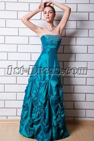 Best Hunt Green Romantic Quinceanera Dress IMG_0678