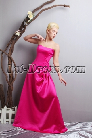 Cheap Junior Prom Dresses in Hot Pink SOV111020