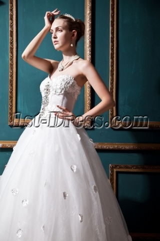 Corset Honorable 2013 Wedding Dress IMG_0348