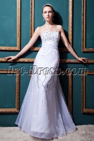 Floor Length Elegant 2013 Bridal Gown IMG_0406