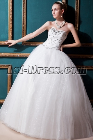 Gorgeous 2013 Beautiful Bridal Gown IMG_0302