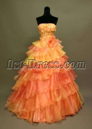 Hot Colorful Quinceanera Dresses IMG_6892