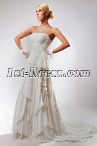 Hot Sale Elegant Bridal Gowns 2012 SOV110034