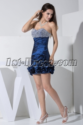 Hunter Mini Sweet 16 Dress with Flower WD1-008